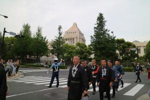 衆議院会館前