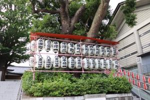 日枝神社の氏子提灯