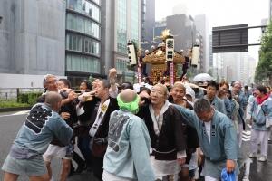 町内渡御 神輿⑪