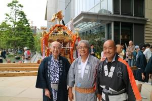 紀尾井町町会長、連合町会長、や組組頭