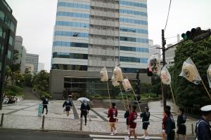 紀尾井町ガーデンタワーに到着